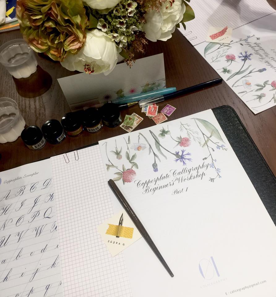 Sunday calligraphy workshop! Stay Tuned!