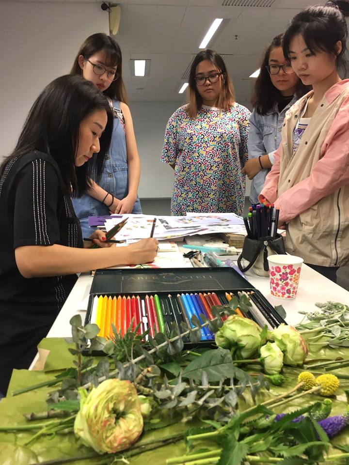 Watercolor Workshop at HKDI
