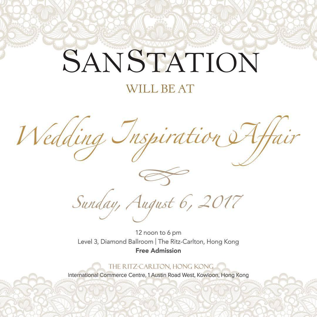 Wedding Inspiration Affair at the Ritz-Carlton Hong Kong