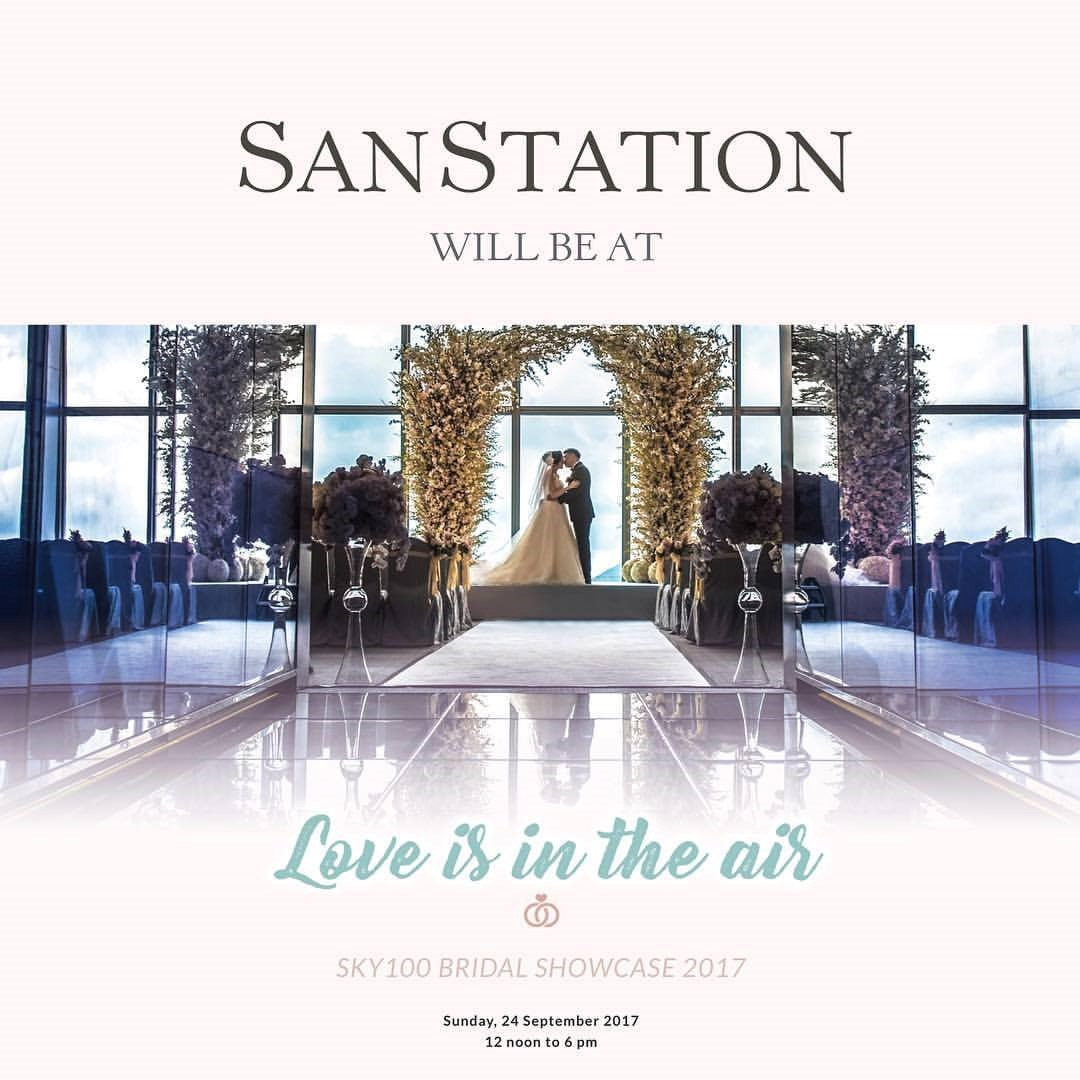 Love is in the air Sky100 Bridal Showcase 2017