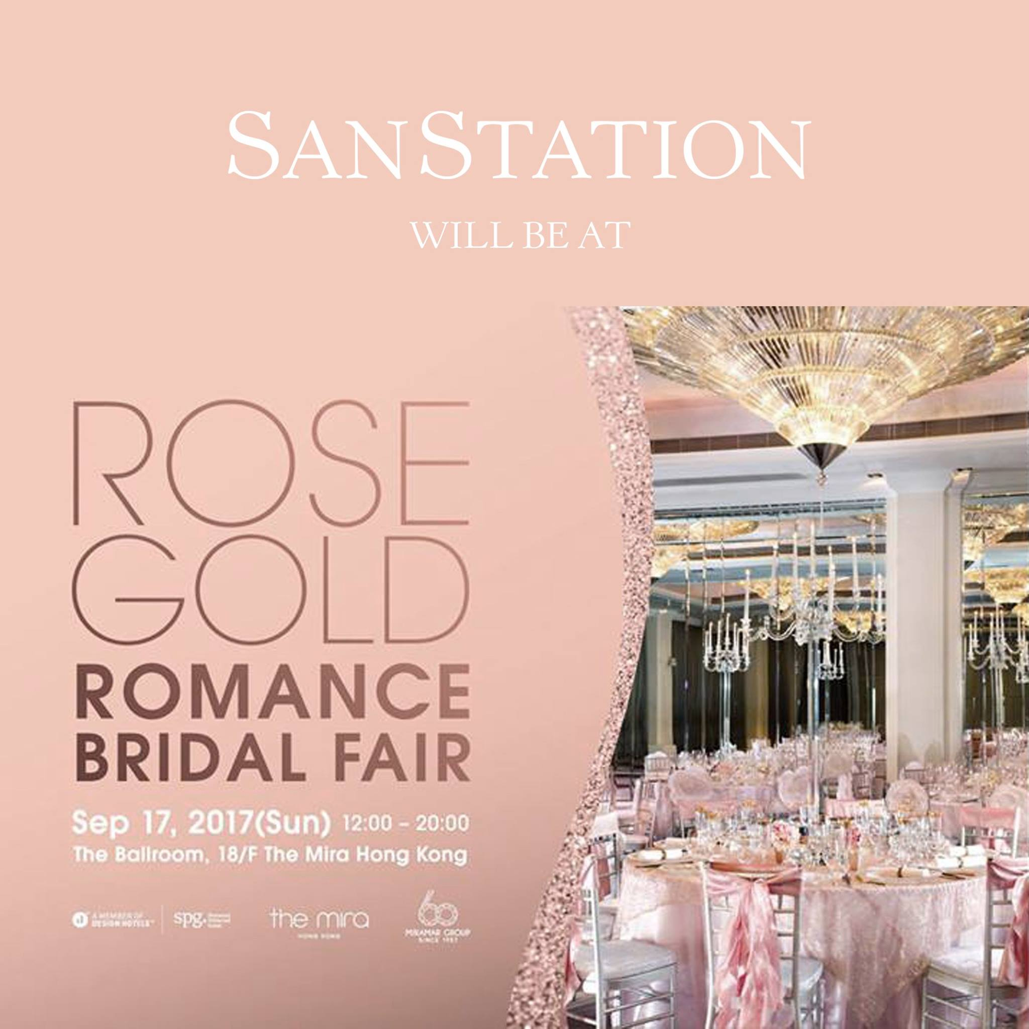 Rose Gold Romance Bridal Fair at The Mira Hong Kong